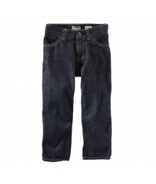 Oshkosh Dark Wash Boys Classic Husky Jeans Big Boy