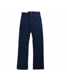 Gap Navy/Blue Corduroy Slim Straight Fit Trousers