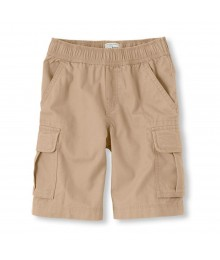 Childrens Place Khaki Cargo Shorts