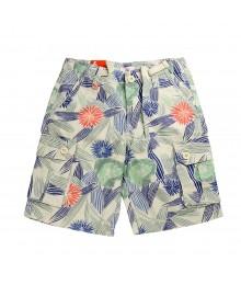 Joe Fresh Floral Print Beach Shorts - Boys