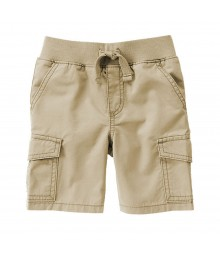 Gymboree Khaki Pull-On Cargo Short Little Boy