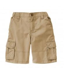 Gymboree Khaki Twill Cargo Shorts