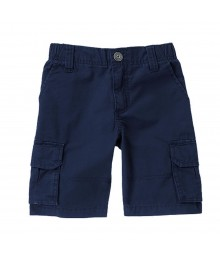 Gymboree Navy Cargo Shorts