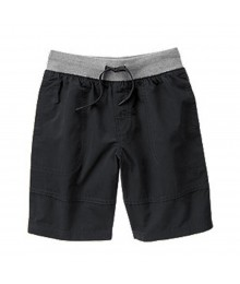 Gymboree Grey/Charcoal Pull-On Shorts