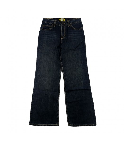Old Navy Darkwash Husky Bootcut Denim Big Boy