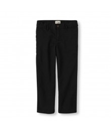 Childrens Place Black Basic Chinos Trouser