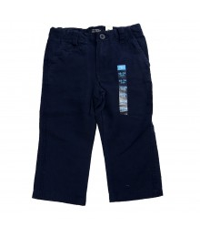 Childrens Place Linen Trouser - Navy