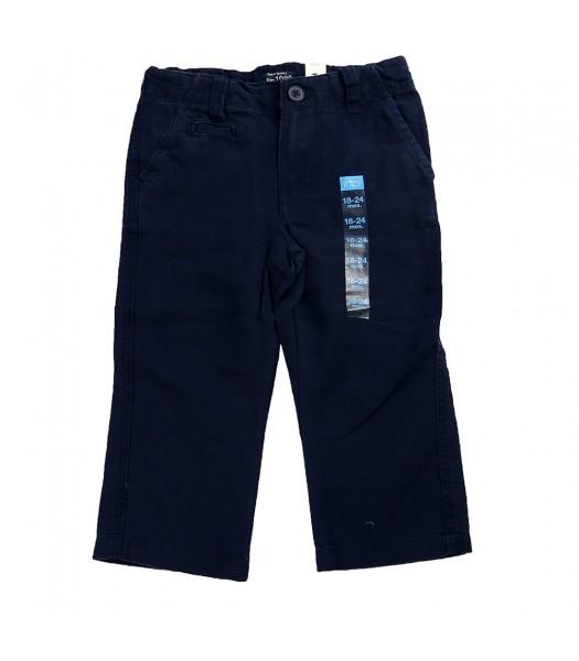 Childrens Place Linen Trouser - Navy