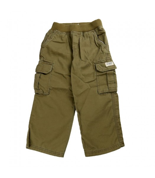 Childrensplace Olive Cargo Trousers