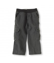 Childrensplace Dark Grey Cargo Trousers