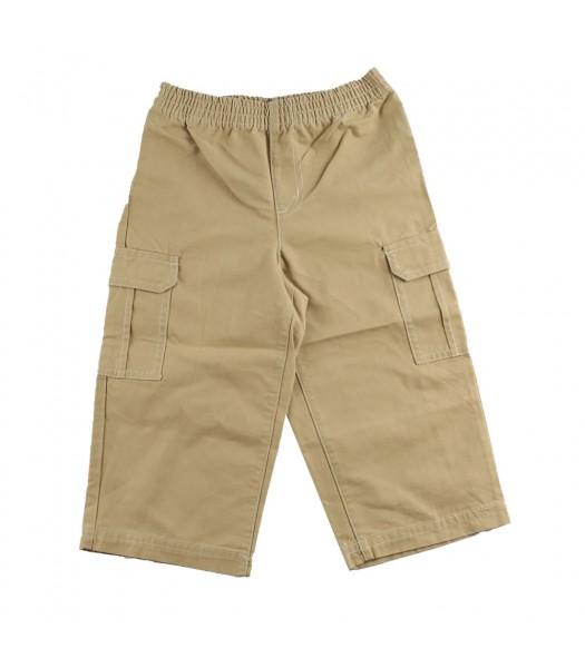 Faded Glory Khaki Woven Pull On Pants