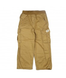 Childrensplace Dark Tan Cargo Trousers
