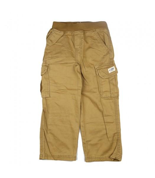 Childrensplace Dark Tan Cargo Trousers
