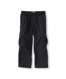 Childrensplace Navy Cargo Trousers