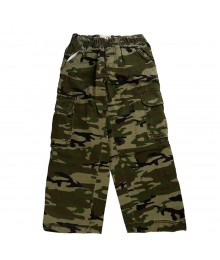 Childrensplace Green Camo Cargo Trousers Little Boy