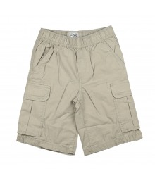 Childrens Place Cream Boys Cargo Shorts