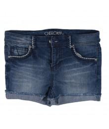 Cherokee Blue Girls Denim Bum Shorts Big Girl