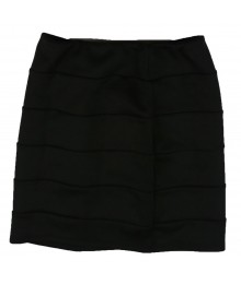 Amy Byer Black Banded Skirt