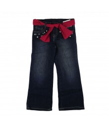Gymboree Pearl/Gem Shifon Fush Belt Girls Jeans