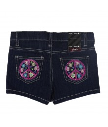 Eye Candy Blue Girls Bum Shorts