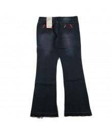 Total Girls Blue Skinny Flare Girls Skinny Jeans Wt Seqd Uk Flag