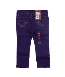 Arizona Purple Girls Skinny Jeans Wt Dream Embry