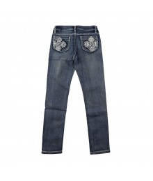 Revolution By Revolt Blue Girls Jeans Little Girl