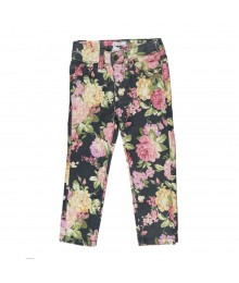 Joe Fresh Floral Skinny Girls Jeans Little Girl
