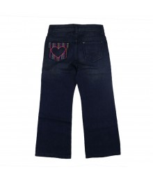 Crazy 8 Blue Girls Boot Cut Jeans