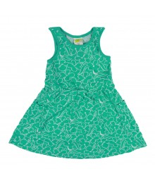 Crazy 8 Green Floral Knit Dress