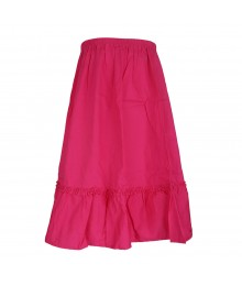 Gymboree Fush Girls Skirt Big Girl