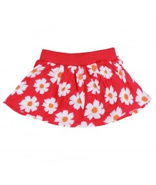 Jumping Beans Red Flower Skooter Baby Girl