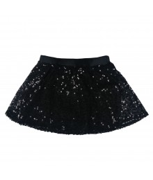 Candies Black Sequince On Lace Skirt Big Girl