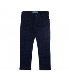 Old Navy Blue Polka Girls Skinny Jeans