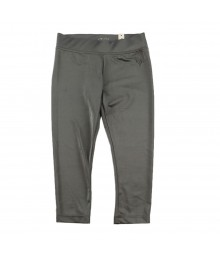 Justice Grey Lycra 3/4 Leggings/Capri
