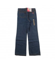 Carters Embroidered Patch Pocket Boocut Jeans Little Girl