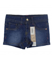 Sonoma Blue Shimmered Denim Bum Shorts