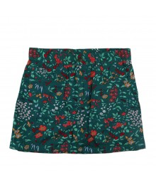 Crazy 8 Green Floral Wildflower Skirt