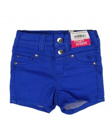 Justice Blue High Waist Bum Shorts