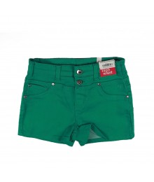 Justice Green High Waist Bum Shorts