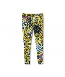 Code Bleu Butterfly Print Leggings