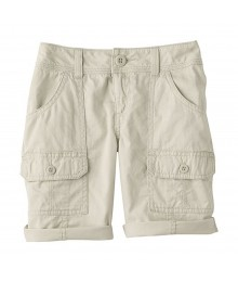 Sonoma Beige Girls Utility Shorts