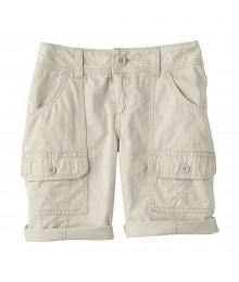 Sonoma Beige Girls Utility Shorts