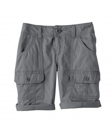 Sonoma Grey Girls Utility Shorts