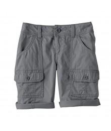 Sonoma Grey Girls Utility Shorts