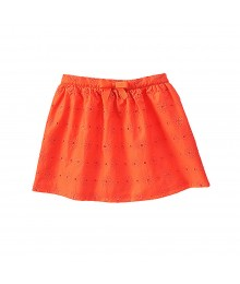 Gymboree Orange Eyelet Skirt