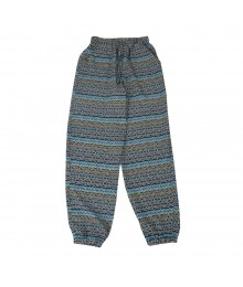Speechless Navy/Turq Tribal Print Soft Pants