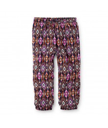 Carters Multi Print Tribalsoft Cotton Joggers Little Girl