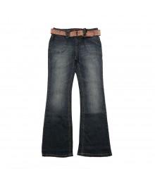 Jolt Belted Flared Jeans
