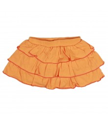 Oshkosh Ruffled Jersey Skort Orange Baby Girl
